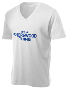 Shorewood Elementary School Seagulls Alternative Men's 3.7 oz Basic V-Neck T-Shirt