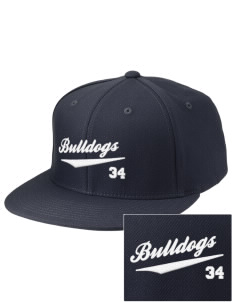 Southern Heights Elementary School Bulldogs Embroidered Diamond Series Fitted Cap