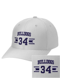 Southern Heights Elementary School Bulldogs Embroidered Wool Adjustable Cap