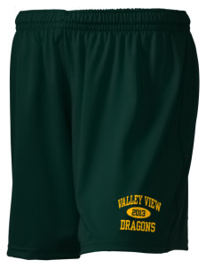 "Valley View Elementary School Dragons Holloway Women's Performance Shorts, 5"" Inseam"