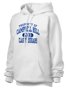 Campbell Hill Elementary School Cougars Cubs Unisex Hooded Sweatshirt