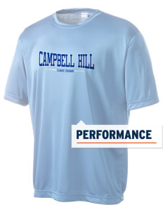 Campbell Hill Elementary School Cougars Cubs Men's Competitor Performance T-Shirt