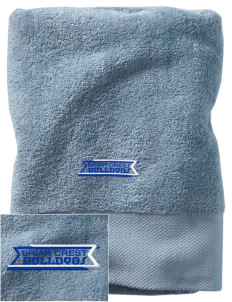 Briar Crest Elementary School Bulldogs Embroidered Zero Twist Resort Towel