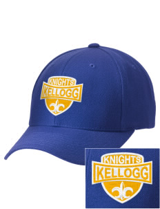 Kellogg Middle School Knights Embroidered Wool Adjustable Cap