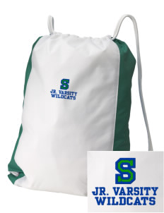 Syre Elementary School Wildcats Embroidered Holloway Home and Away Cinch Bag