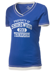 Shorewood High School Thunderbirds Holloway Women's Dream T-Shirt