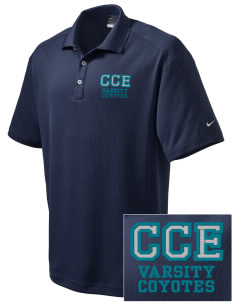 Canyon Creek Elementary School Coyotes Embroidered Nike Men's Dri-Fit Classic Polo