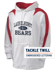 Laurelhurst Elementary School Bears Holloway Men's Sports Fleece Hooded Sweatshirt with Tackle Twill