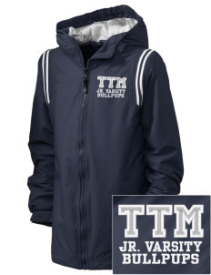 T T Minor Elementary School Bullpups Embroidered Holloway Kid's Titan Hooded Jacket