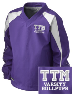 T T Minor Elementary School Bullpups Embroidered Holloway Kid's Victory Warm Up