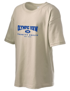 Olympic View Elementary School Eagles Kid's 6.1 oz Ultra Cotton T-Shirt