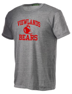 Viewlands Elementary School Bears Alternative Men's Eco Heather T-shirt