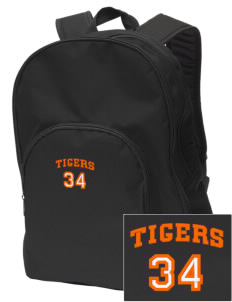 Catherine Blaine School Tigers Embroidered Value Backpack