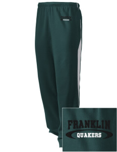 Franklin High School Quakers Embroidered Holloway Men's Pivot Warm Up Pants
