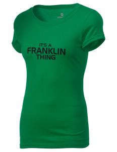 Franklin High School Quakers Holloway Women's Groove T-Shirt