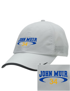 John Muir Elementary School Lions Embroidered Nike Dri-FIT Swoosh Perforated Cap