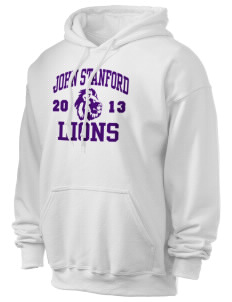 John Stanford International School Lions Ultra Blend 50/50 Hooded Sweatshirt