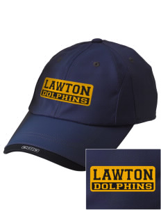 Lawton Elementary School Dolphins Embroidered OGIO X-Over Cap