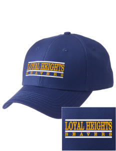 Loyal Heights Elementary School Beavers  Embroidered New Era Adjustable Structured Cap