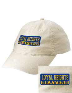 Loyal Heights Elementary School Beavers Embroidered Vintage Adjustable Cap