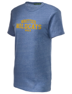 Whittier Elementary School Wildcats Embroidered Alternative Unisex Eco Heather T-Shirt