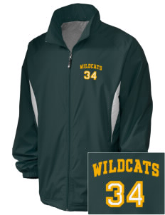 Whitworth Elementary School Wildcats Embroidered Holloway Men's Full-Zip Jacket