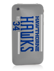 Hawthorne Elementary School Hawks Apple iPhone 3G/ 3GS Skin