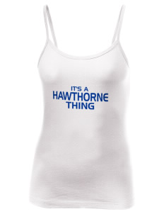 Hawthorne Elementary School Hawks Women's Louise Longer Length Tank