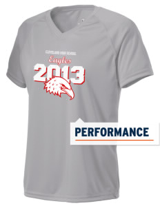 Cleveland High School Eagles Holloway Women's Zoom Performance T-Shirt