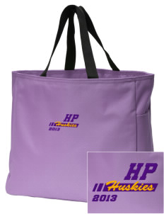 High Point Elementary School Huskies Embroidered Essential Tote