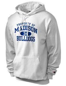 Madison Middle School Bulldogs Champion Men's Hooded Sweatshirt