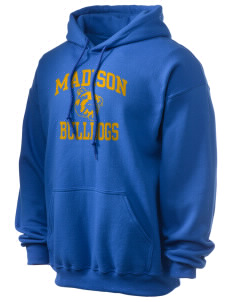 Madison Middle School Bulldogs Ultra Blend 50/50 Hooded Sweatshirt