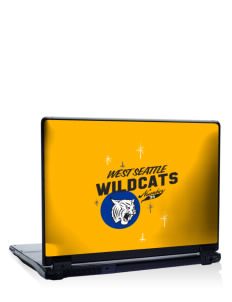 "West Seattle High School Wildcats 17"" Laptop Skin"