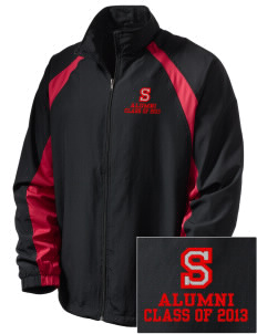 Suquamish Elementary School Eagles  Embroidered Men's Full Zip Warm Up Jacket