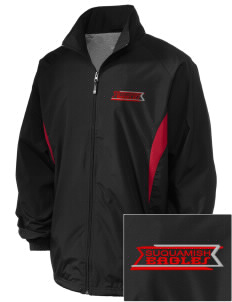 Suquamish Elementary School Eagles Embroidered Holloway Men's Full-Zip Jacket