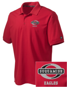 Suquamish Elementary School Eagles Embroidered OGIO Men's Caliber Polo