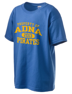 Adna Senior High School Pirates Kid's 6.1 oz Ultra Cotton T-Shirt