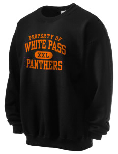 White Pass Senior High School Panthers Ultra Blend 50/50 Crewneck Sweatshirt