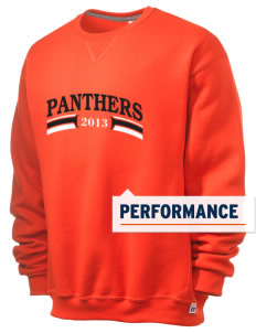 White Pass Senior High School Panthers  Russell Men's Dri-Power Crewneck Sweatshirt