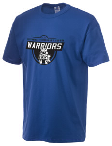 Eatonville Elementary School Warriors  Russell Men's NuBlend T-Shirt