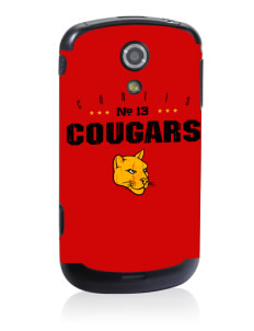 Curtis Junior High School Cougars Samsung Epic D700 4G Skin
