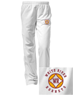 White River High School Hornets Embroidered Women's Tricot Track Pants