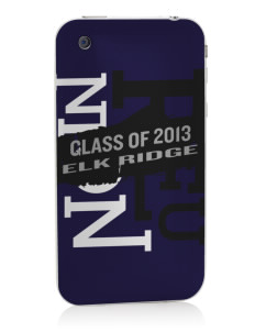 Elk Ridge Elementary School Wolves Apple iPhone 3G/ 3GS Skin