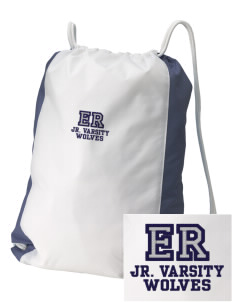 Elk Ridge Elementary School Wolves Embroidered Holloway Home and Away Cinch Bag