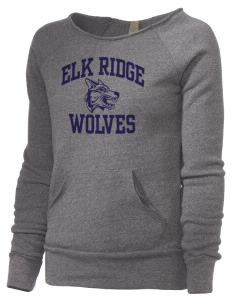 Elk Ridge Elementary School Wolves Alternative Women's Maniac Sweatshirt