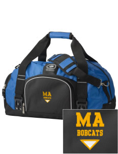 Mill A Elementary School Bobcats  Embroidered OGIO Big Dome Duffel Bag