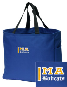 Mill A Elementary School Bobcats Embroidered Essential Tote