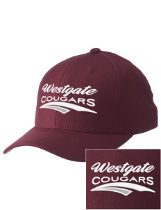Westgate Elementary School Cougars Embroidered Pro Model Fitted Cap