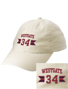 Westgate Elementary School Cougars Embroidered Vintage Adjustable Cap
