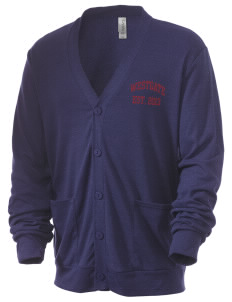 Westgate Elementary School Cougars Men's 5.6 oz Triblend Cardigan